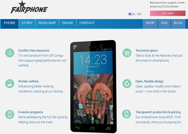 Fairphone, le smartphone équitable
